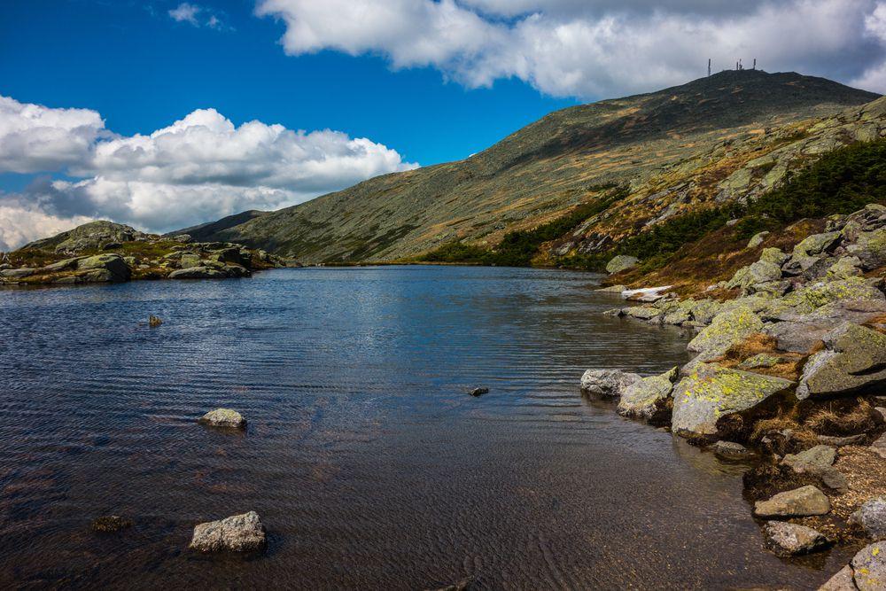 Mount Washington Lake Scene