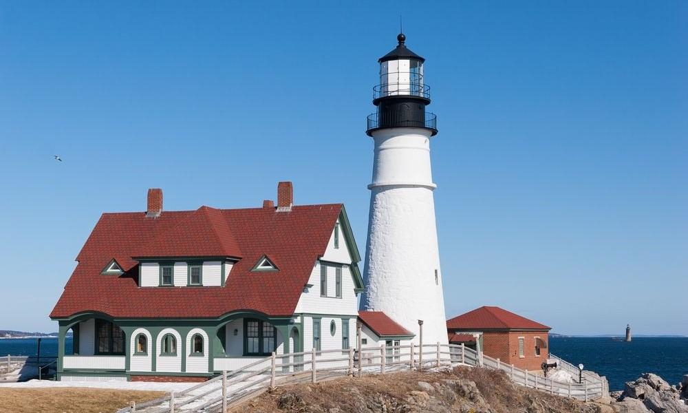 Portland Head Light House, Maine C